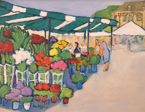 Market Day II in Vernon Normandy