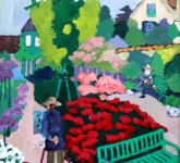 Francine in the Garden