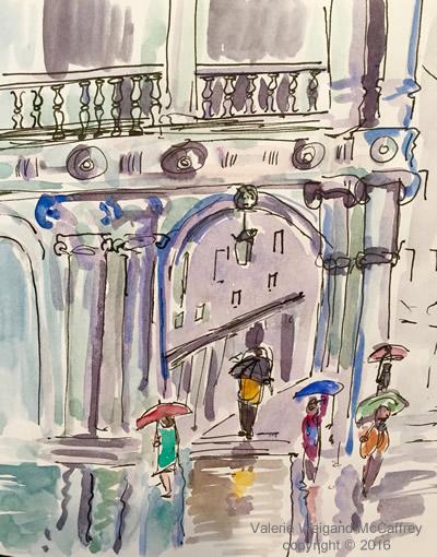 Marche Rainy Day