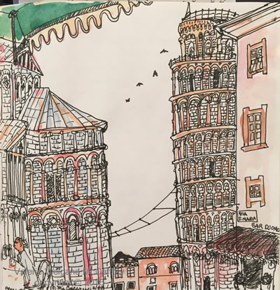 Tuscany Buildings