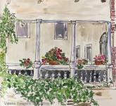 Teatro Olimpico Courtyard